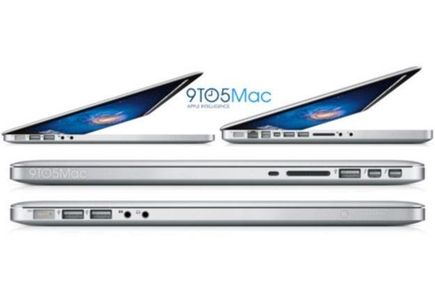 Tak prezentować mają się nowe MacBooki Pro (Fot. 9to5Mac) /Internet