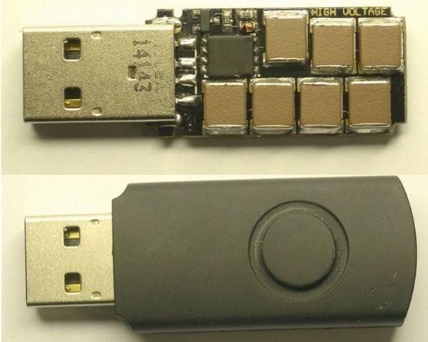 Tak prezentowała się poprzednia wersja USB Killer /materiały prasowe