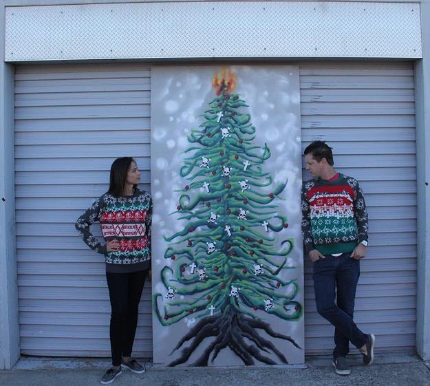 Tak prezentują się Metallikowe swetry na zimę /