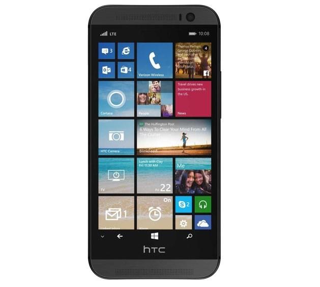 Tak prezentuje się HTC One (M8) z Windows Phone. /materiały prasowe