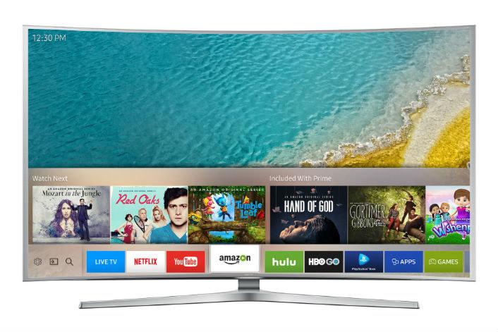 Tak prezentuje się zmieniony interfejs Samsung Smart TV /materiały prasowe