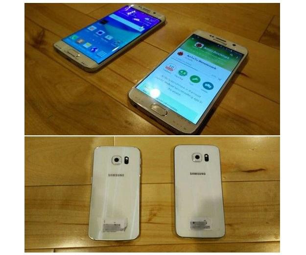 Tak rzekomo mają wyglądać Samsung Galaxy S6 oraz S6 Edge. Źródło: phonearena /android.com.pl