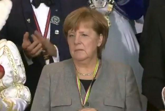 Tak się bawi Angela Merkel /Twitter