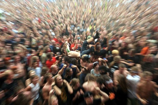 Tak się bawi Przystanek Woodstock - fot. Igor Kohutnicki /WOŚP