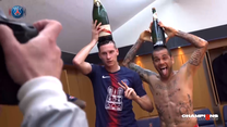 Tak się bawi PSG. Paryżanie świętowali w szatni mistrzostwo Francji. Wideo