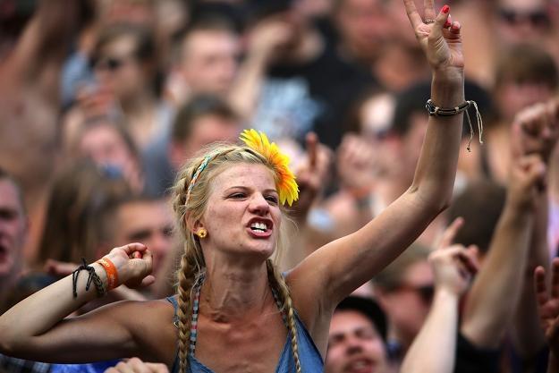 Tak się bawi publiczność pod sceną - fot. Marek Prucnal /WOŚP