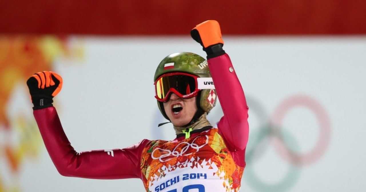 Tak się cieszył Kamil Stoch - mistrz olimpijski!