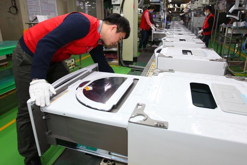 Tak się produkuje sprzęt AGD w fabryce LG /materiały prasowe