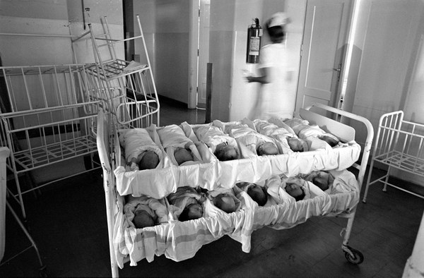 Szpital położniczy na ul. Karowej, Warszawa, 1978