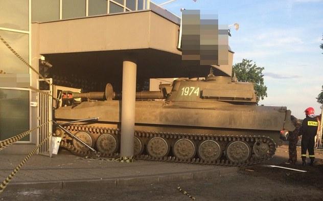 Tak skończył się militarny festyn w Szubinie /Policja