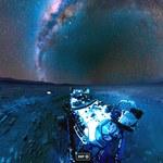 Tak spektakularnie wygląda nocne niebo na Marsie