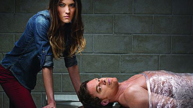 """Tak stacja Showtime reklamuje ostatni sezon """"Dextera"""" /materiały prasowe"""