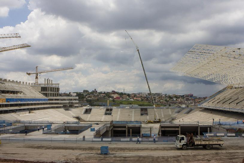 Tak stadion w Sao Paulo wyglądał jeszcze przed niespełna rokiem /Daniel Vorley /Getty Images