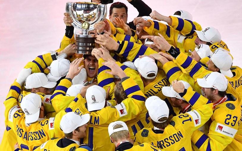 Tak Szwedzi świętowali mistrzostwo świata w ubiegłym roku /AFP