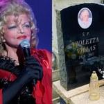 Tak teraz wygląda grób Violetty Villas! Fani stanęli na wysokości zadania