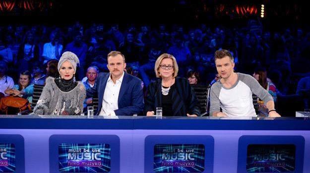 """Tak teraz wygląda skład jury w programie """"Tylko muzyka. Must Be The Music"""" /Polsat"""