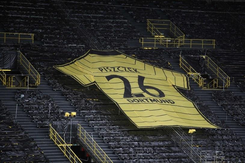 Tak w Dortmundzie żegnano Łukasza Piszczka /AFP/POOL FRIEDEMANN VOGEL/ /AFP