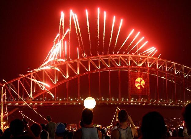 Tak w Sydney witano Nowy Rok 2011 - fot. Jeremy Ng /Getty Images/Flash Press Media