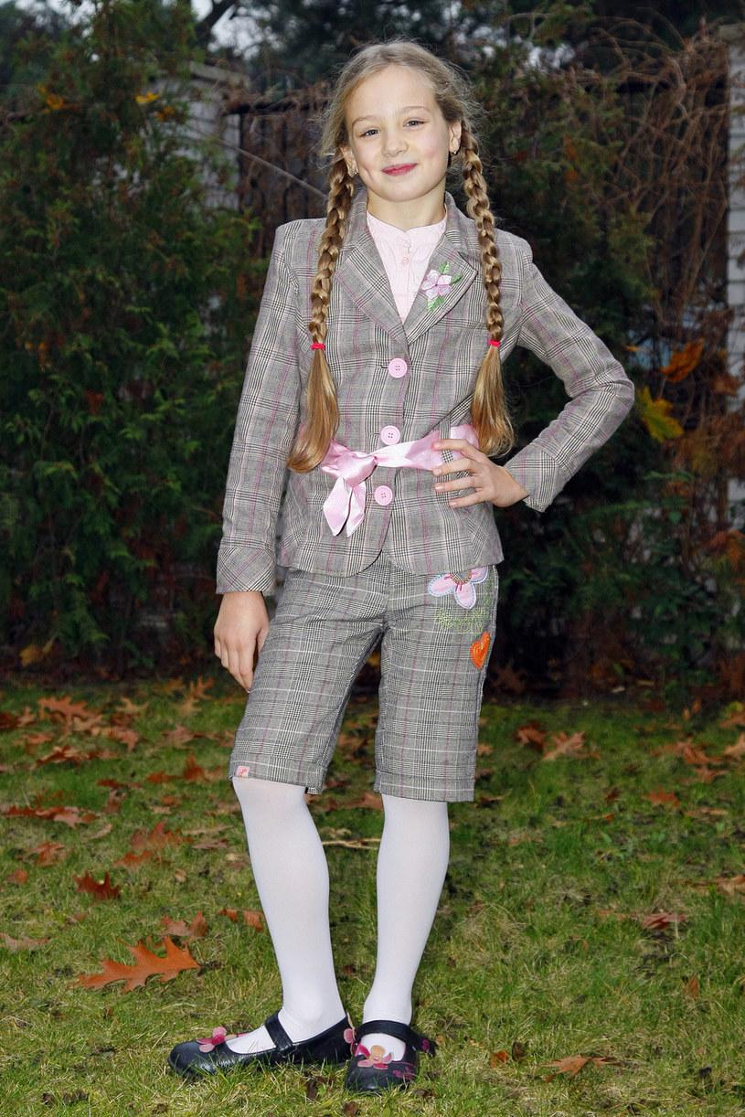 Tak Wiktoria Gąsiewska wyglądała w 2009 roku. Miała wtedy 10 lat /AKPA