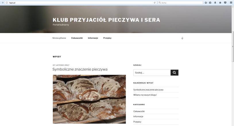 Tak wygląda adres Kppis.pl teraz /Internet