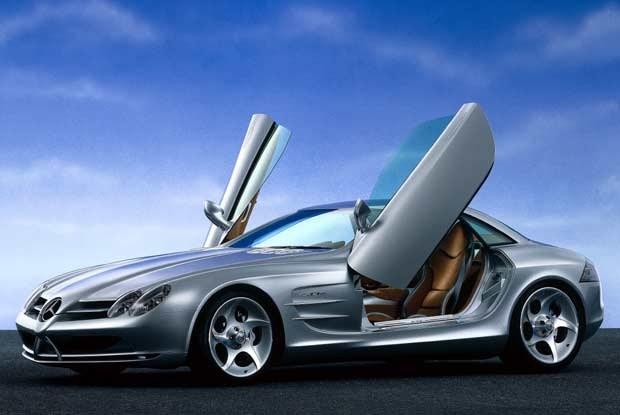 Tak wygląda autentyczny Mercedes SLR Vision / kliknij /INTERIA.PL