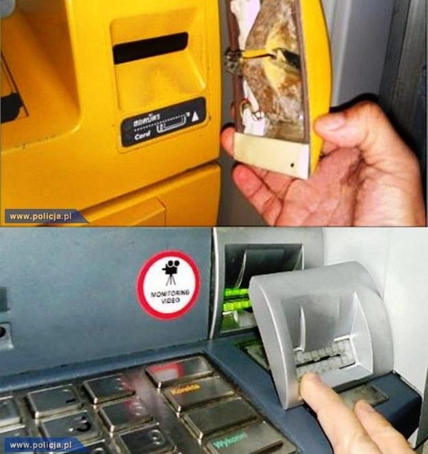 Tak wygląda bankomat, który został przygotowany przez przestępcę /materiały prasowe
