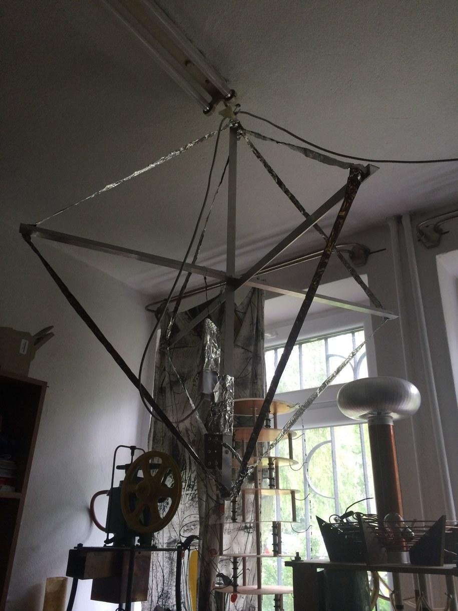 Tak wygląda detektor burz /Krzysztof Kot /RMF FM