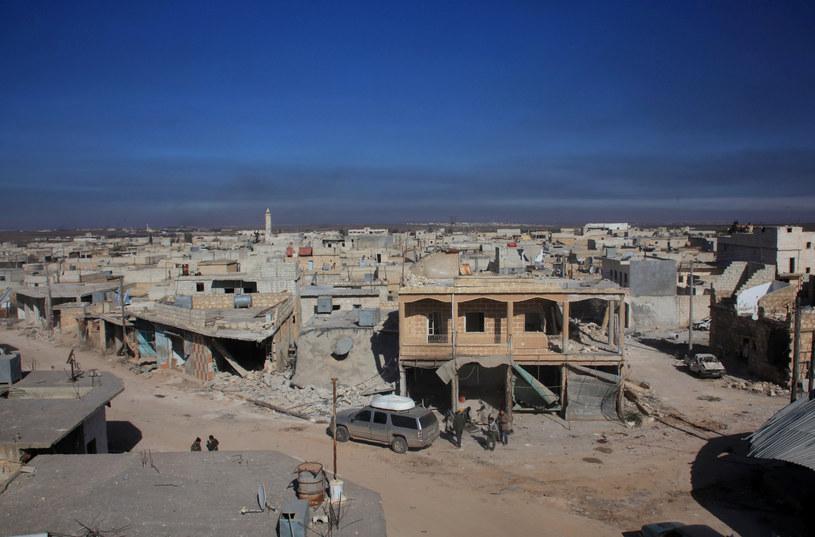 Tak wygląda dziś Aleppo /AFP