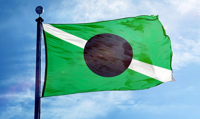 Tak wygląda flaga Królestwa Kabuto fot. oficjalna strona Kabuto /Internet