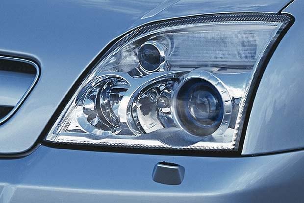 Tak wygląda inteligenty reflektor Opla (kliknij) /INTERIA.PL