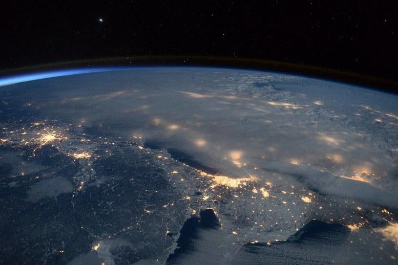 """Tak wygląda """"Jonas"""" z Kosmosu. Fot. Scott Kelly/ Facebook /materiały prasowe"""
