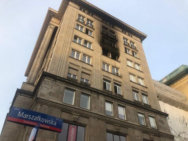 Tak wygląda kamienica o poranku /Michał Dobrołowcz /RMF FM