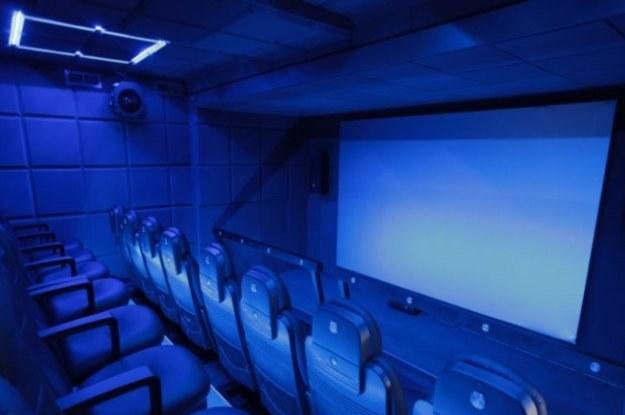 Tak wygląda kino 5D - pozornie nie różni się od kina 3D /materiały prasowe