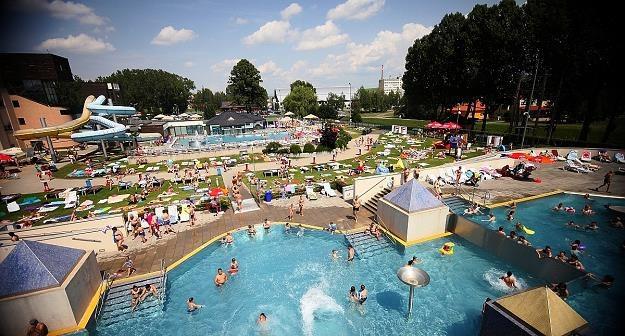 Tak wygląda kompleks AquaCity w sezonie letnim. Fot. www.aquacity.sk /