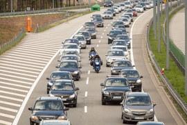 Tak wygląda koniec długiego weekendu na A1