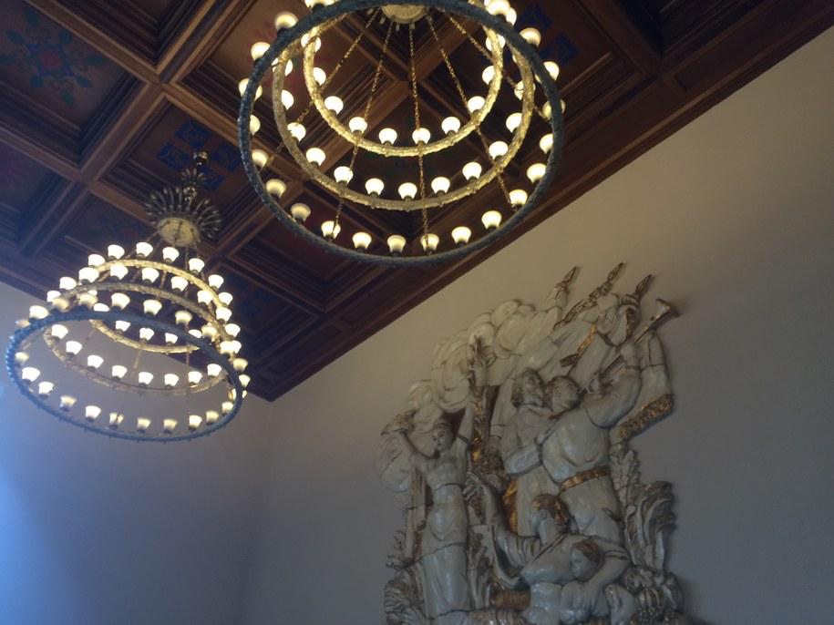 """Tak wygląda miejsce, które odwiedzający Pałac Kultury w 1955 roku nazwali """"kaplicą"""" /Michał Dobrołowicz /RMF FM"""