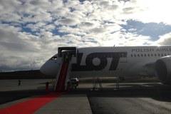 Tak wygląda model najnowszego Boeinga Dreamlinera dla Polskich Linii Lotniczych LOT