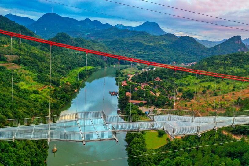 Tak wygląda najdłuższy szklany most na świecie /materiały prasowe