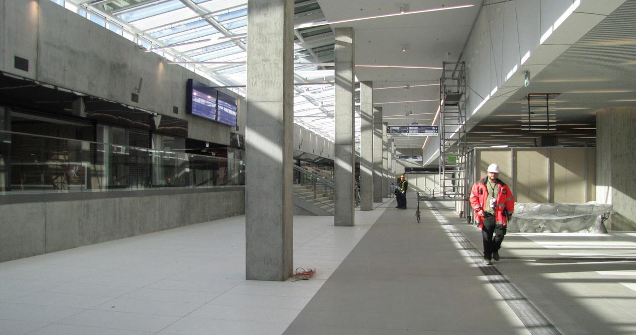 Tak wygląda nowoczesny dworzec w Katowicach