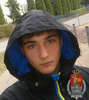 Tak wygląda poszukiwany 13-letni Mariusz /Policja