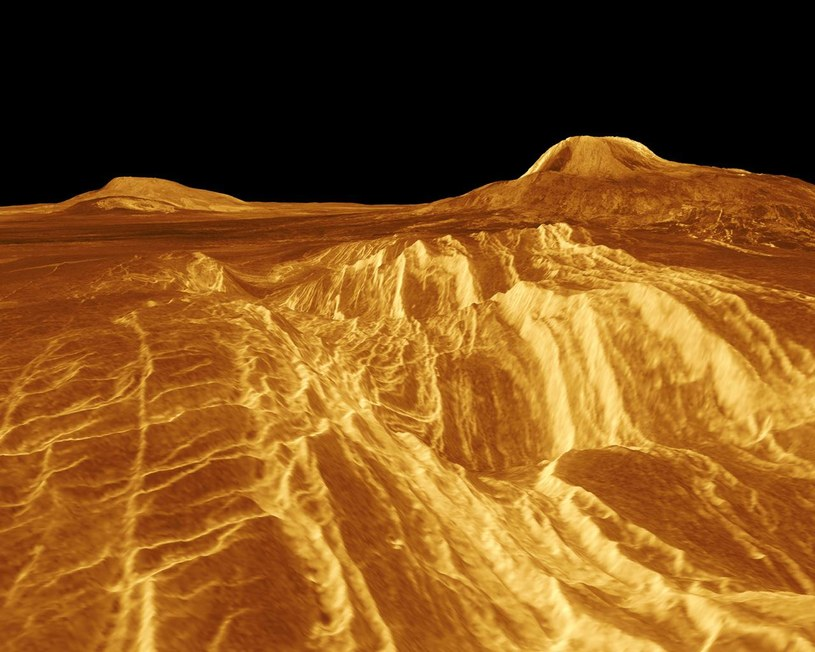Tak wygląda powierzchnia Wenus /NASA