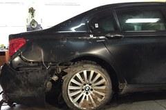 Tak wygląda prezydencka limuzyna po wypadku na A4