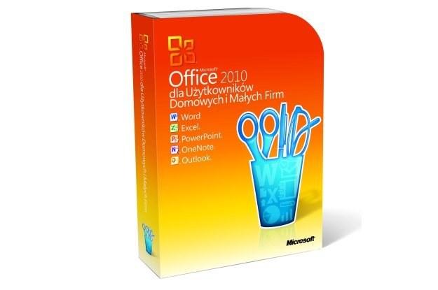 Tak wygląda pudełko najnowszej wersji Microsoft Office 2010 /materiały prasowe