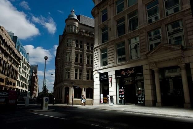 Tak wygląda refleks świetlny odbity od fasady budynku /AFP