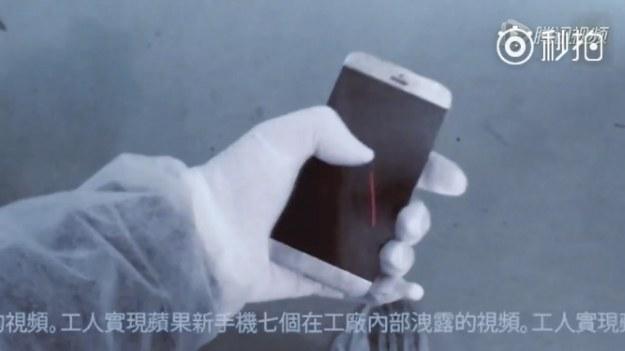 Tak wygląda rzekomo prototyp iPhone'a 7 /materiały prasowe