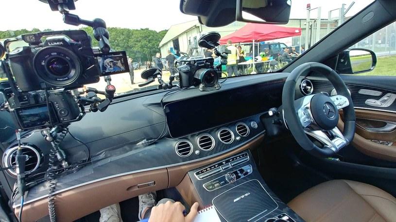 Tak wygląda samochód przygotowany do nagrań w programie /INTERIA.PL