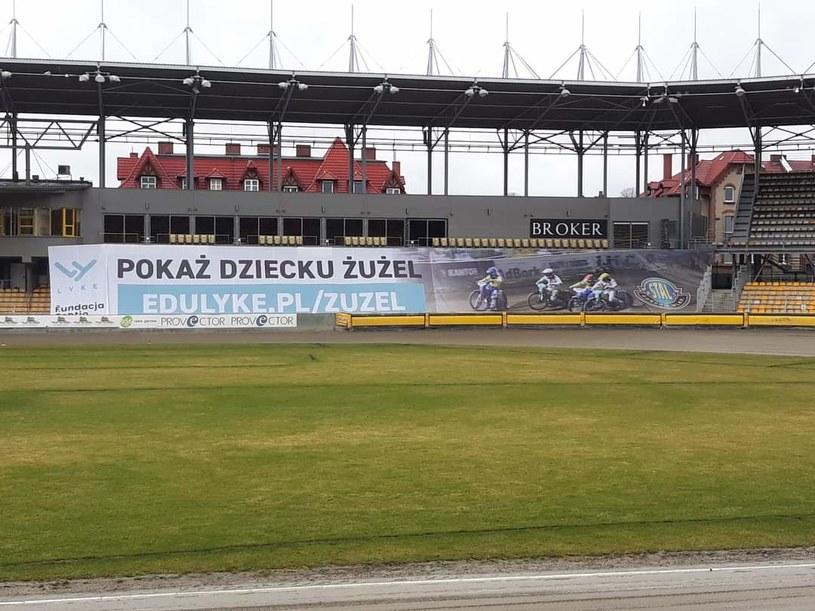 Tak wygląda stadion Stali Gorzów. Źródło: Internet /