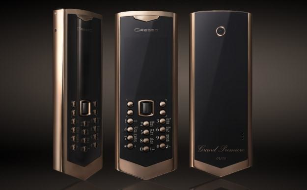 Tak wygląda telefon za 170 tysięcy złotych.         Fot. Gresso /Internet