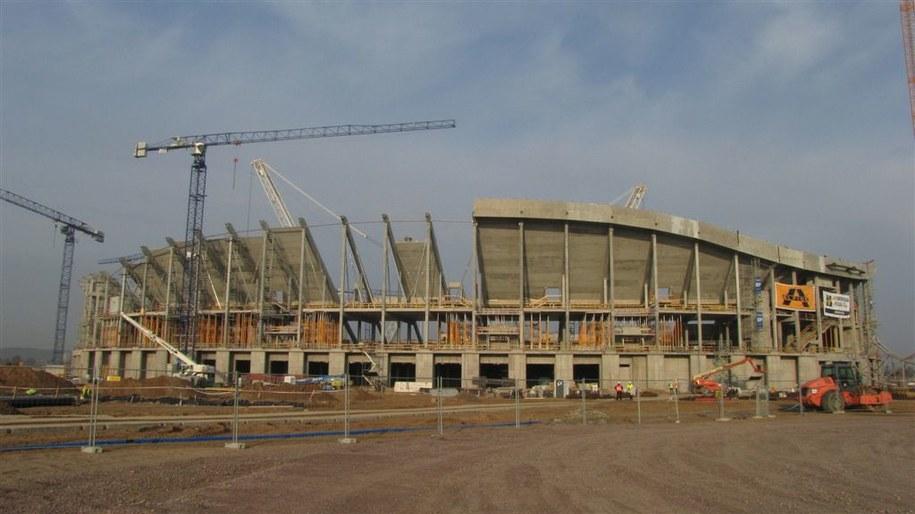 Tak wygląda teraz PGE Arena Gdańsk /RMF FM