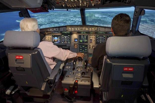 Tak wygląda wnętrze Airbusa A320 /ASON CALSTON / AIRBUS HANDOUT /PAP/EPA